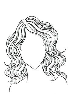 Wavy or Curly Hair, Heart Face: With a collarbone-length cut, curls are full around shoulders and balance the forehead's width.