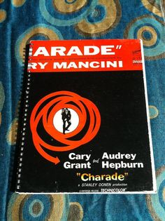 Charade Blank Book by Merrittorious on Etsy, $12.00