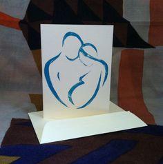 New Baby Card by cgdowski on Etsy