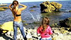На Диком пляже в Одессе. Продолжение. On Wild beach in Odessa. Continuation