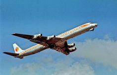 "National Airlines Douglas DC-8-61 N45191 ""Christine"" - January 1975. (Photo: Kenny Ganz)"