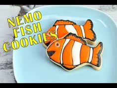 NEMO FISH COOKIES TUTORIAL by HANIELA'S
