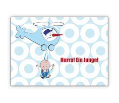 Buben Babykarte mit Storch im Helikopter und Baby: Hurra! Ein Junge! - http://www.1agrusskarten.de/shop/buben-babykarte-mit-storch-im-helikopter-und-baby-hurra-ein-junge/    00000_1_2356, Eltern, Familie, geboren Neugeborenes, Geburt, gratulieren Großeltern, Grusskarte, Klappkarte Baby00000_1_2356, Eltern, Familie, geboren Neugeborenes, Geburt, gratulieren Großeltern, Grusskarte, Klappkarte Baby