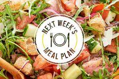 Easy Summer Meal Plan   Kitchn