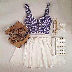Zeliha's Blog: Cute Summer Outfits