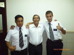 hermano ciro y su compañero con elder musa en su bautismo nov. 2014