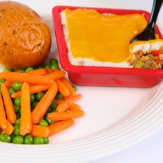 Can't wait to try all the food offered in Cars Land. — No trip to Radiator Springs at Disney California Adventure is complete without a stop at Flo's V-8 Café and a taste of their delicious spin on the classic shepherd's pie. Here's her Veggie Tater Casserole recipe