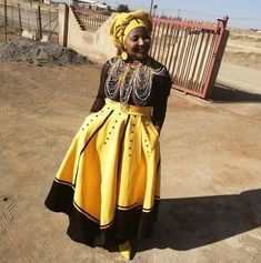 Xhosa Attire, African Attire, African Wear, African Women, African Dress, African Clothes, African Print Dress Designs, African Design, Ankara Designs