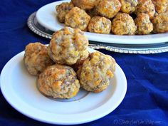 Sausage Balls are a Southern tradition. This recipe includes instructions for make ahead and re-heating. Perfect breakfast, lunch, snack or dinner.