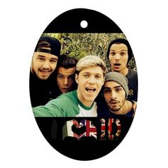 CHECK OUT ALL THE ONE DIRECTION CHRISTMAS ORNAMENTS I FOUND AT THE ...