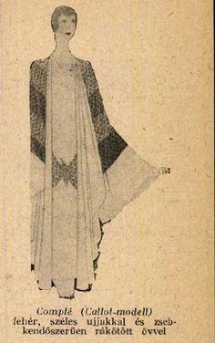 Complé- felöltő kánikulában- Színházi Élet 1928