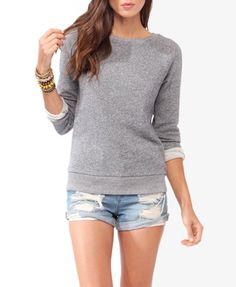 Basic French Terry Pullover | FOREVER 21 - 2030186691