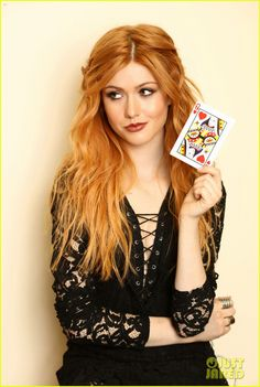 Katherine McNamara Supports Girl Up SchoolCycle Campaign: Photo #898849. Katherine McNamara looks stunning as she flings a deck of cards in an image from a new photo shoot.    Earlier this week, 19-year-old Shadowhunters actress attended…