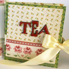 cute tea cards how-to