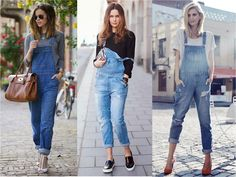 Feminilidades Overalls Outfit, Romper Outfit, Denim Overalls, Dress Outfits, Fashion Outfits, Dungarees, Dresses, Love Jeans, Jeans Style