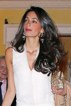 Amal-Clooney - love her hair