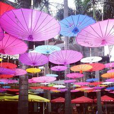 Philippines. For CNY. #manila #umbrella