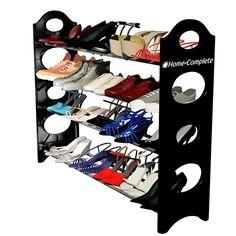 Home-complete shoe rack organizer storage bench Top 10 Best Shoe Racks In 2015 Reviews
