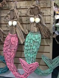 Driftwood mermaid