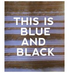 Canvas print of #TheDress that broke the internet in #BlackAndBlue