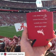 Follow the brand new Welsh Wear account for the UNIVERSITY OF ALABAMA!  Stay up to date on all things Bama themed from Welsh Wear! #HoundstoothCorgi #WWBama #Corgi #preppy #Repost @welshwear_bama .  Them Damn Tiger Eagle Coozies are available at WelshWear.com under Campus Legacy Collection! #rolltide #damntigereagles #bama #campuslegacycollection #preppy #HoundstoothCorgi