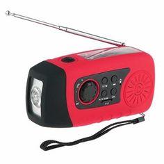 N29TF Portable Hand Crank Generator Solar Dynamo FM AM Radio With Flashlight MP3 Player Sale - Banggood.com
