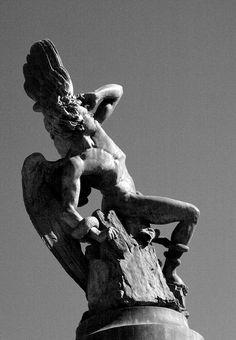 El Ángel caído (Lucifer), el Retiro de Madrid (España)