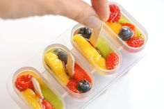 Fresh Fruit Popsicles | Fruit Salad Ice Pops