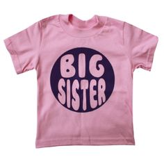 Happy Family Big Sister Girls T Shirt