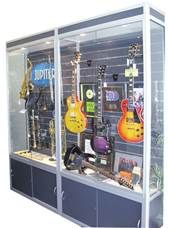 Guitar Display Cabinet By ARTISAN PRODUCTS