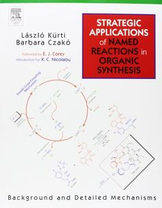 strategic applications of named reactions in organic synthesis pdf