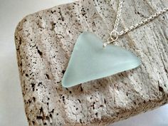 Large Genuine Natural Heart Shaped Sea by MadeByTheBaySeaGlass