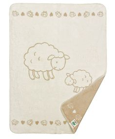 Organic Cotton Childrens Blanket - Molly the Sheep