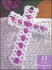 Ravelry: Cross Bookmark pattern by Tamara Deffibaugh