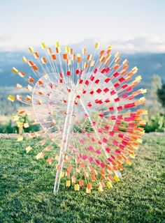Heart archery seating assignment / 20 Most Creative Escort Card Ideas to Impress / The Bridal Detective