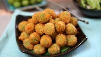 Cheese Stuffed Fried Green Olives Image