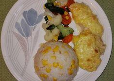 Besameles csirkemell | Eszti receptje - Cookpad receptek Dairy, Eggs, Cheese, Breakfast, Food, Morning Coffee, Essen, Egg, Meals