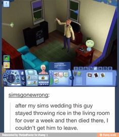 Oh. Stupid Funny Memes, Funny Relatable Memes, Haha Funny, Funny Posts, Hilarious, Funny Stuff, Sims Memes, Sims Humor, Really Funny