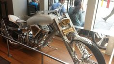 9/11 memorial chopper. Built from steel from the disaster