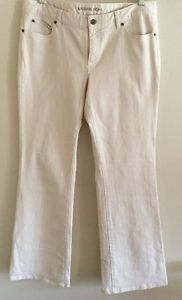 Michael Kors Beige Cotton Pants Stretch Sz 12 | eBay