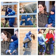 News pics of George with his mum in park;. Royal PrincePrince GeorgesDuchess  KatePrincess ...