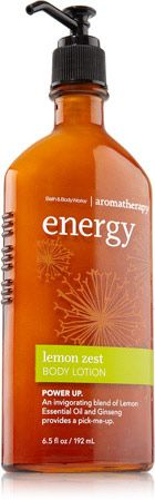Lemon Zest Body Lotion - Aromatherapy - Bath & Body Works