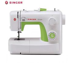 The SINGER 3232 Simple sewing machine is the perfect machine for beginner sewers. With an automatic needle threader quick-and-easy threading and adjustable stitch length and width set-up is simple . Simple Sewing Machine, Sewing Machine Reviews, Janome, Arts And Crafts Supplies, Hobbies And Crafts, Diy Supplies, Singer Facilita, Home Depot, Diy Couture