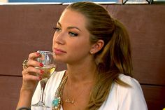 """Stassi Schroeder VANDERPUMP RULES     SHE'S EVIL """"AND DON'T YOU FORGET IT"""" my guilty pleasure, outrageous, but I can't turn it off."""