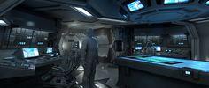 ArtStation - Alien Covenant - Ship Interiors, Steve Burg