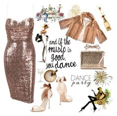 """Dance Party"" by nicolevalents ❤ liked on Polyvore featuring Sophia Webster, RED Valentino and ACME Party Box Company"