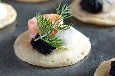 Raymond Blanc's salmon tartare canapés