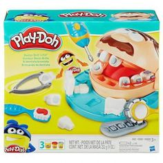 Conjunto Play Doh - Brincando de Dentista - Hasbro