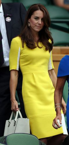 Kate Middleton était ce jeudi dans les tribunes de Wimbledon pour voir jouer Serena Williams en demi-finale dames. Et ce, sans son époux le prince William.