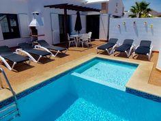 For Rent: 3 bed cosy villa in Matagorda, Lanzarote